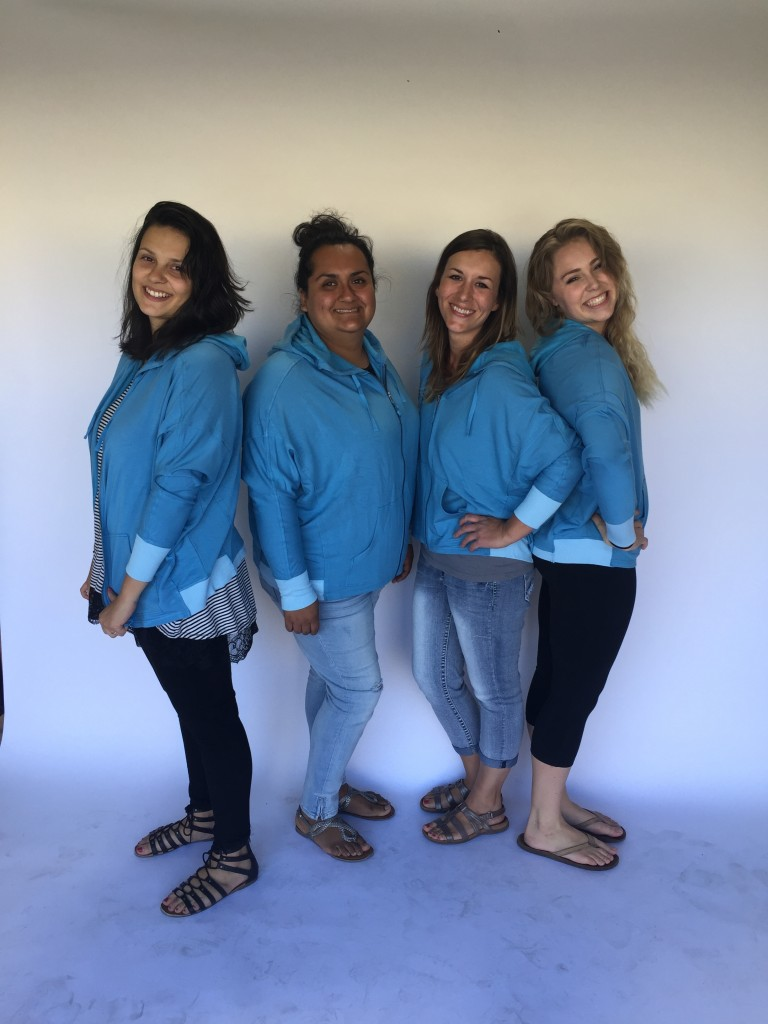 Laura_group_L-R_Veronica_medium_Consuelo_XL_Rose_Small_Brittany_XS