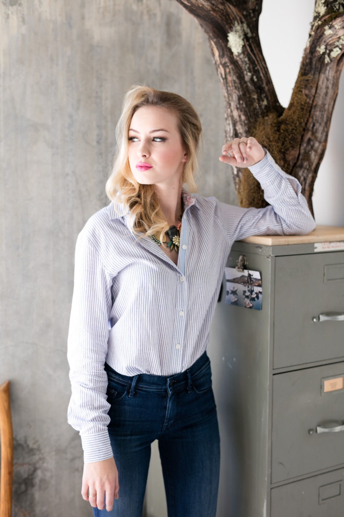 7f7d172aec92 ... wardrobe staple, the versatile button down shirt! Eponymous with the  hardworking, fashion loving, creative heart and soul of the owner of Evy's  Tree, ...