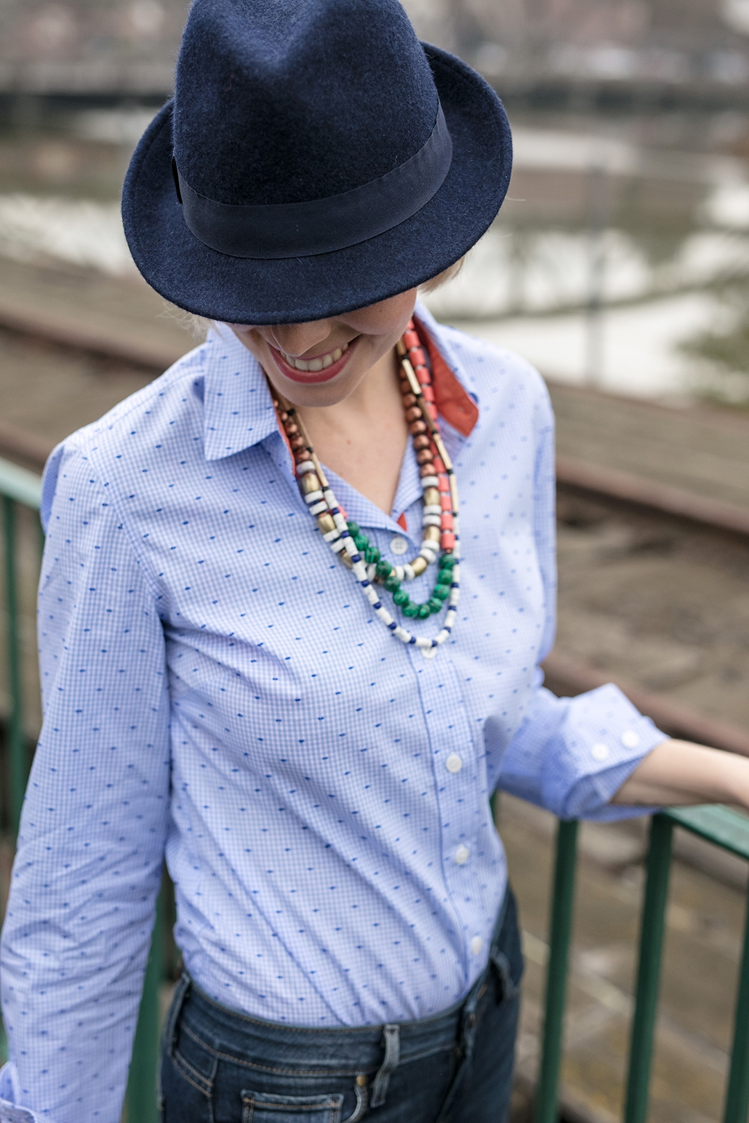 824a81cf1fad Just in time for Spring, let's welcome our all-time favorite foundational  wardrobe piece – the Amy Shirt! Reappearing in a perfect Blue Gingham, ...